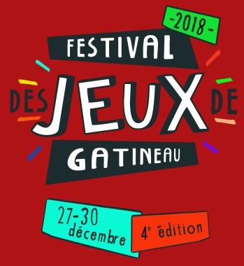 Logo du Festival des jeux de gatineau
